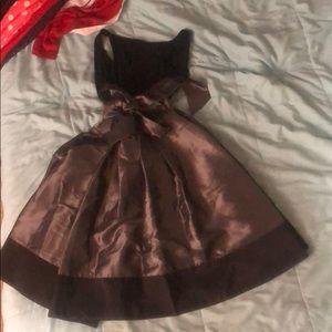 Size 6 S.L. Fashions black cocktail dress